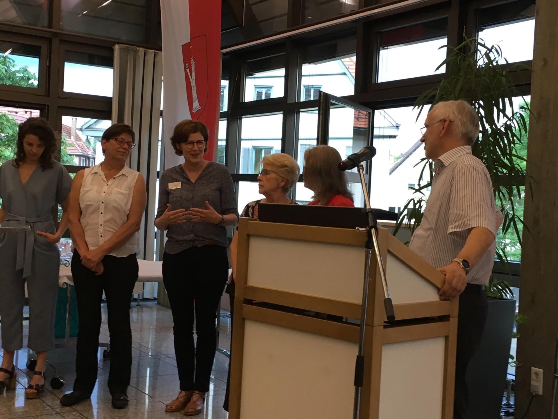SPD Empfang Stuttgart - Leseohren
