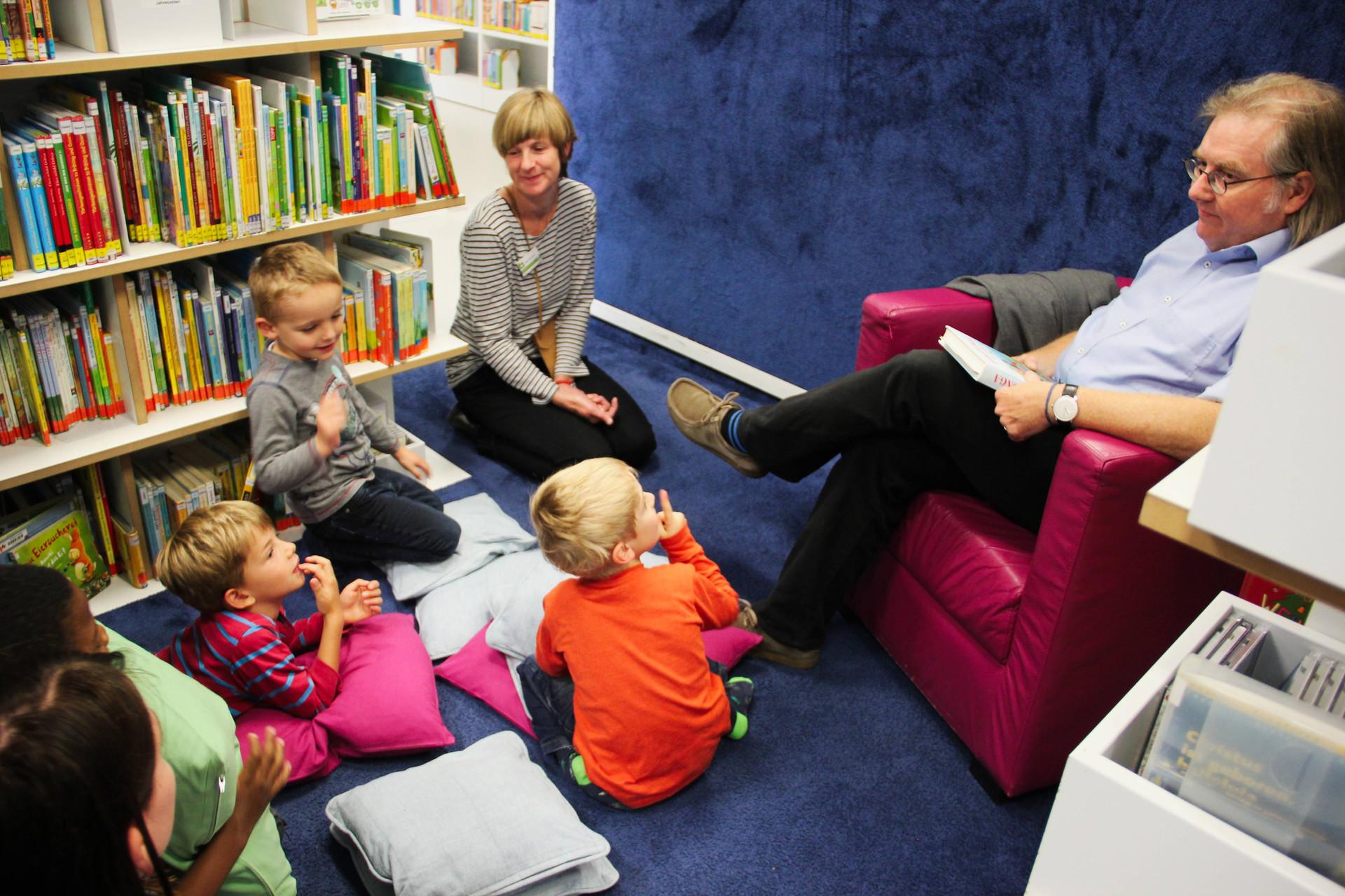 Leseohren BM Pätzlod liest vor