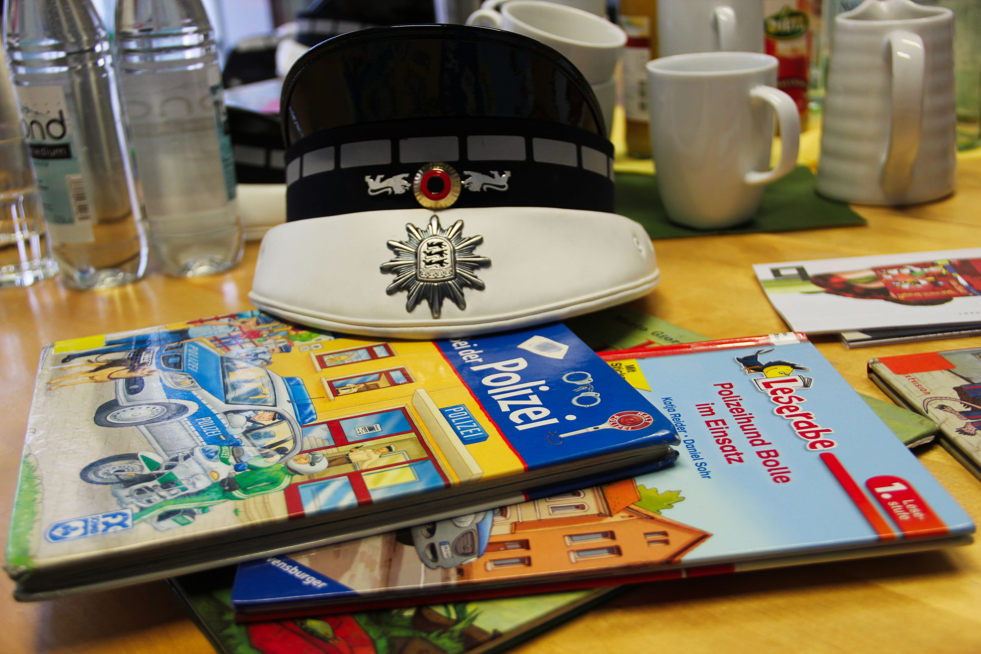 Leseohren spezial': Polizeikommissare