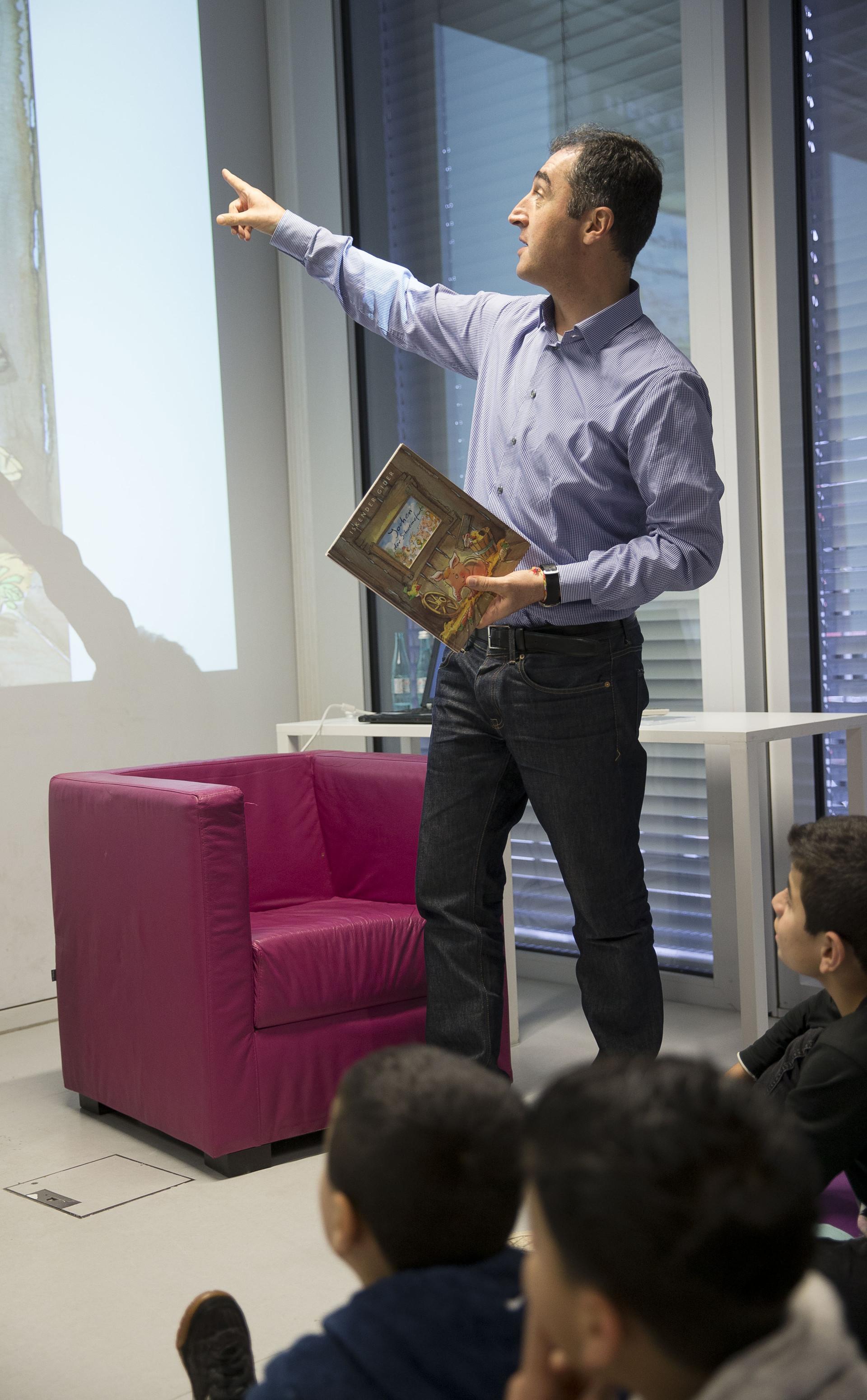 Bundesweiter Vorlesetag, Cem Özdemir, Iskender Gider