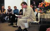 Empfang und Austausch mit den Vorlesepaten