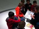 Vorlesen im porsche museum