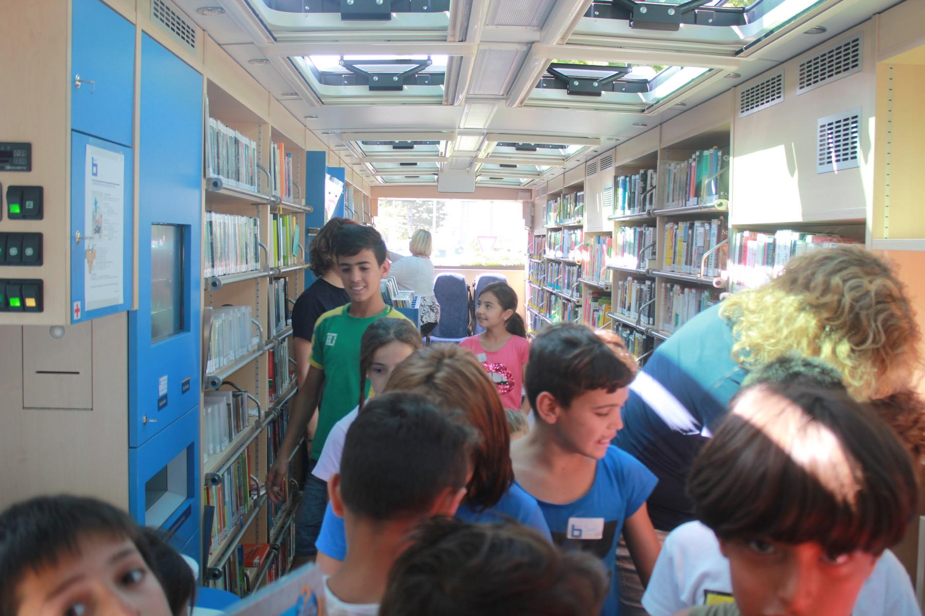 Lese-Heimat - Fahrbibliothek